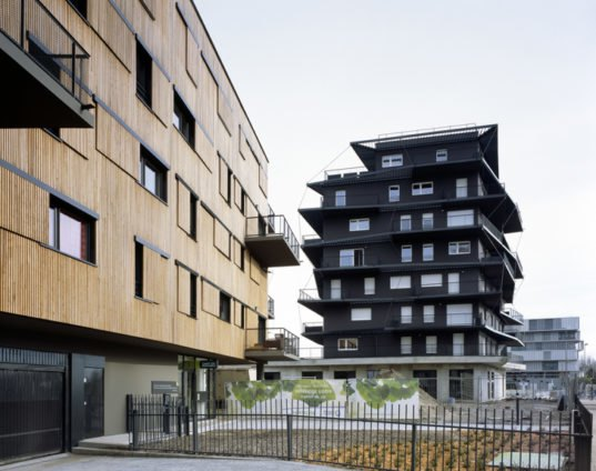 Ginko Eco-neighborhood Bordeaux, eco-neighborhood, sustainable buildings France, French architects, Nicolas Laisné, Christophe Rousselle, garden terraces, gardens, social housing, housing