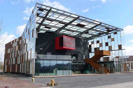 Hérault Arnod Architectes, Metaphone, music hall, France, Architecture, Daylighting, Solar Power, Green Materials, music