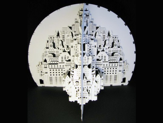 Paper Architecture: Ingrid Siliakus Carves Architectural Wonders ...