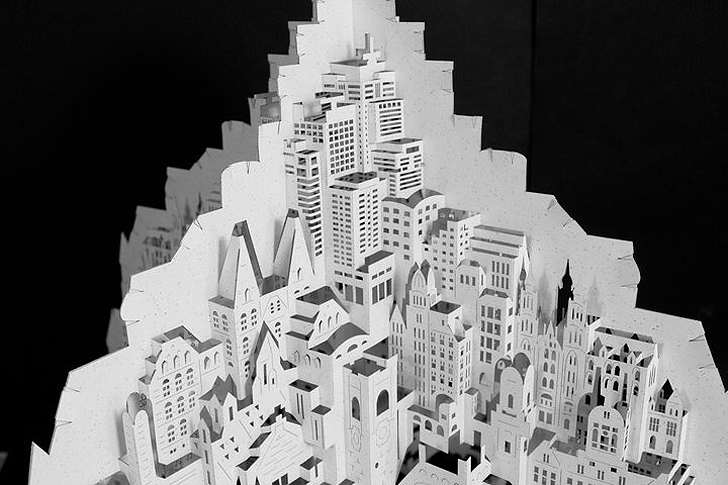 Ingrid Siliakus Paper art « Inhabitat – Green Design, Innovation ...
