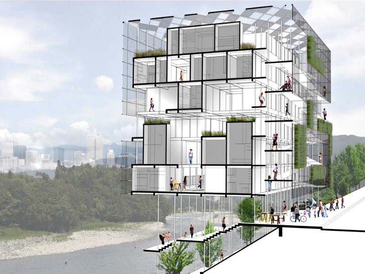 Micro Urban Prefab Project Wins Housing Ideas Compeion In Denver