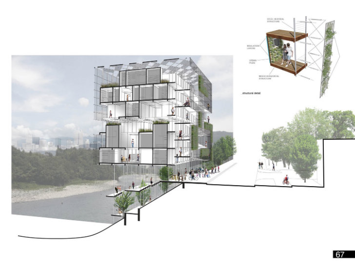 Micro Urban Prefab Project Wins Micro Housing Ideas Competition in