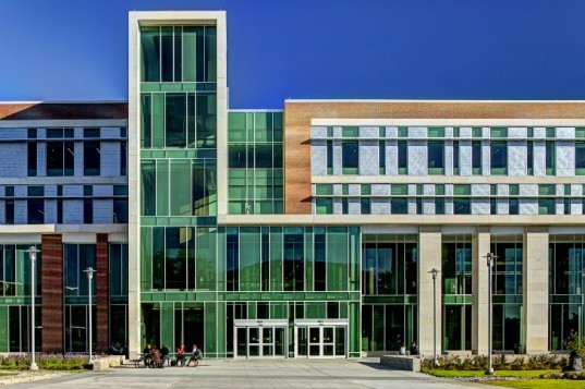 Sangren Hall, SHW Group, western michigan university, leed gold, eco university, green architecture, green building