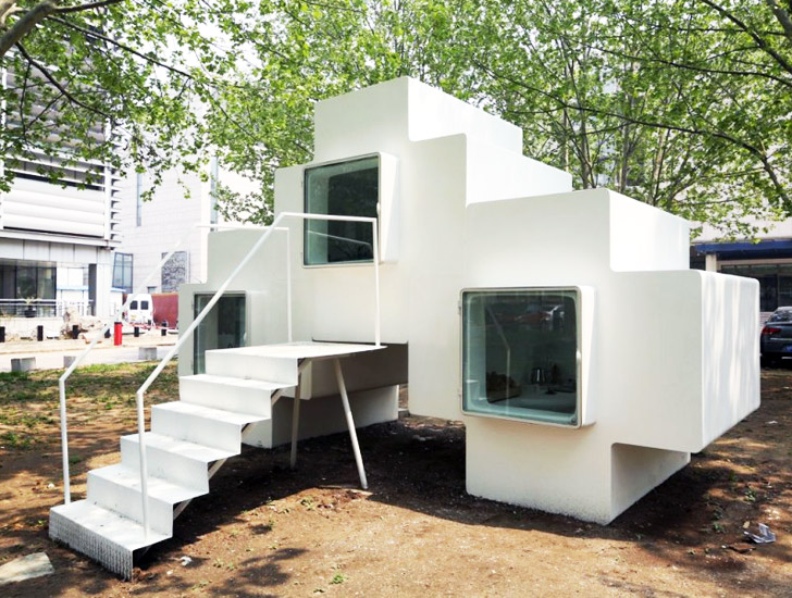 Tetris-Like Micro House Can be Stacked to Form Expanded Housing ...
