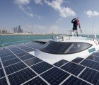MS PlanetSolar Turanor: World's Largest Solar-Powered Boat Docks in NYC