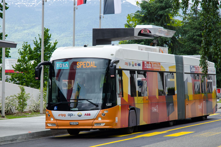 High-Capacity Flash Charger Can Juice Up an Electric Bus in Under 15 Seconds