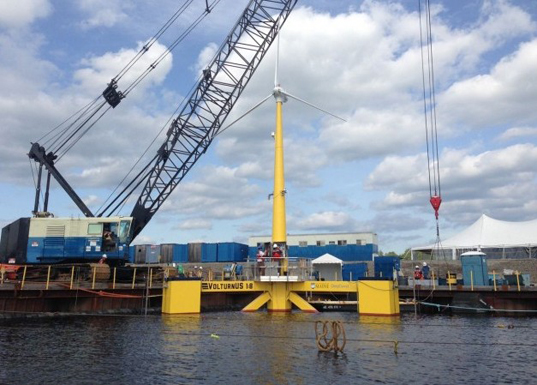 US' First Grid-Connected Offshore Wind Turbine Installed in Maine