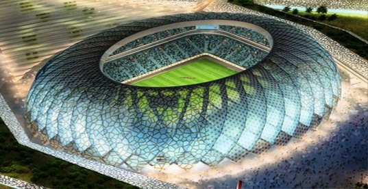 green design, eco design, sustainable design, 2022 FIFA World Cup, Qatar, Zaha Hadid, AECOM, Al Wakrah, DOha, Sustainable stadium