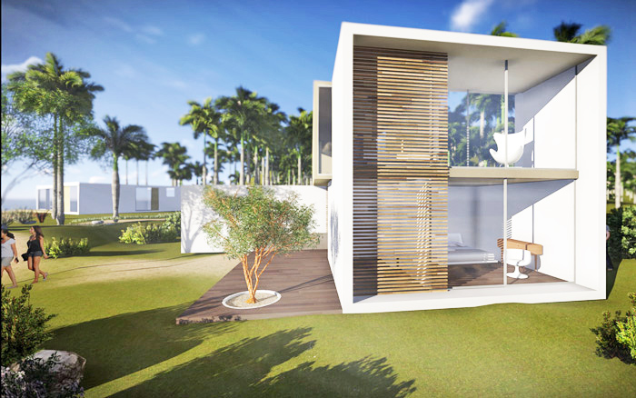 A++ Architecture Unveils Plans for Shipping Container Homes in Bodrum, Turkey