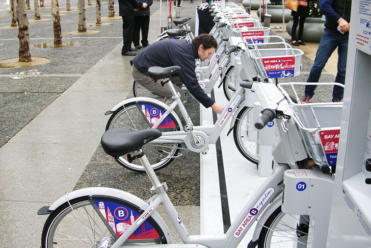San Francisco to Launch Bike-Sharing Pilot Program this Summer