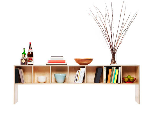 Beam Is a Simple No-Waste Sideboard Made from a Single Sheet of Plywood