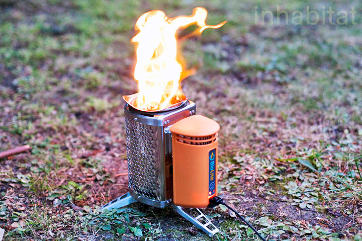 Product Review: The BioLite Campstove Charges Your Gadgets as You Cook a Meal