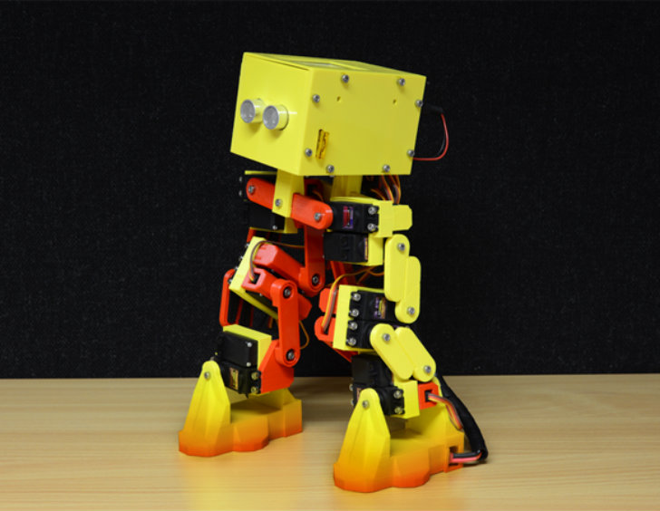 picture relating to 3d Printable Robot identify botobjects job interview 3D released robotic Â« Inhabitat Eco-friendly