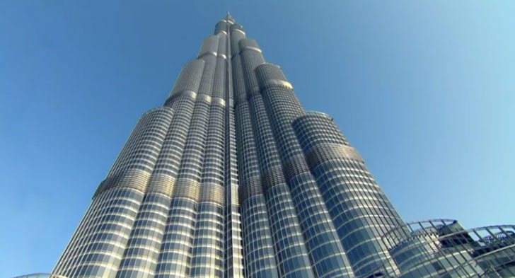 Google Street View Goes To The Top Of The Burj Khalifa