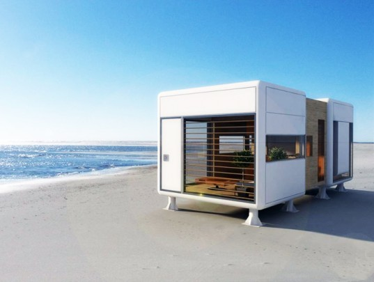 Tselios Chrysanthopoulos, S-Archetype, The Chamfer Home, eco-friendly materials, mobile home, self-sustained, Architecture, Tiny Homes, energy efficiency, Daylighting