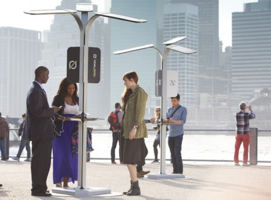 AT&T, eco design, free AT&T chargers, free solar phone chargers nyc, Goal Zero, green design, nyc cell phone charging, nyc solar phone chargers, pensa, pensa design, solar phone charger, solar phone chargers, solar power, street charge, sustainable design, where to charge cell phone in nyc