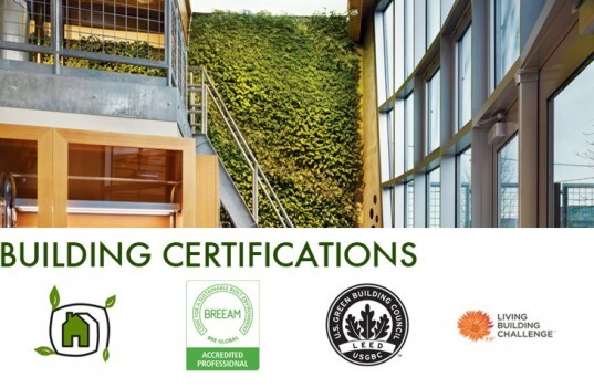 green building certifications, green building labels, green certifications