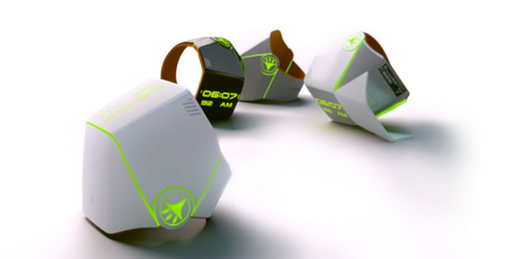 The Hand Tree is a Bracelet That Purifies Polluted Air