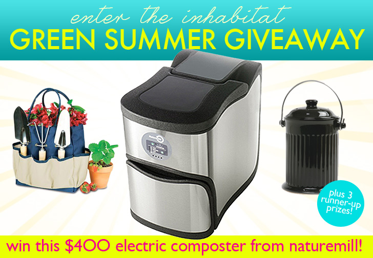 INHABITAT GIVEAWAY: Win An Electric Composter From Naturemill In Our Green  Summer Giveaway (Worth $400)! | Inhabitat   Green Design, Innovation, ...
