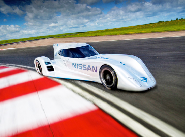 Nissan Unveils The Worldu0027s Fastest Electric Racing Car