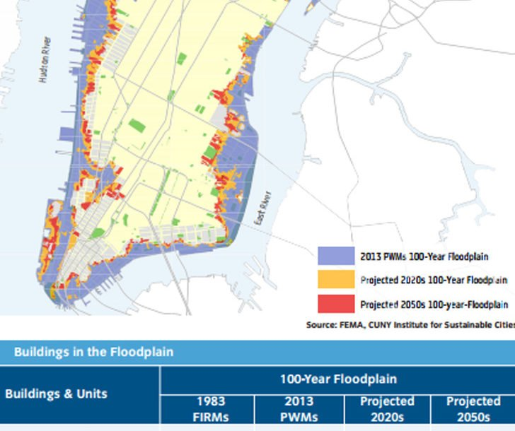 Could This Massive Seaport City Save NYC From Future Storms - Fema firm maps nyc