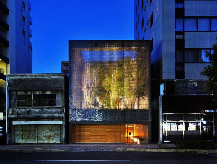 nakamura nap optical glass house hiroshima inhabitat green design innovation architecture. Black Bedroom Furniture Sets. Home Design Ideas