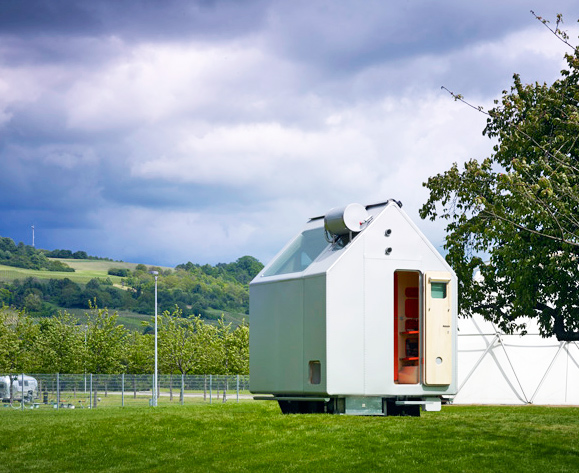 Renzo Piano's Tiny Diogene Hut is an Off-Grid Shelter for One Person