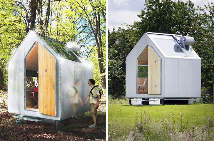 renzo piano 39 s new diogene hut is an off grid one person