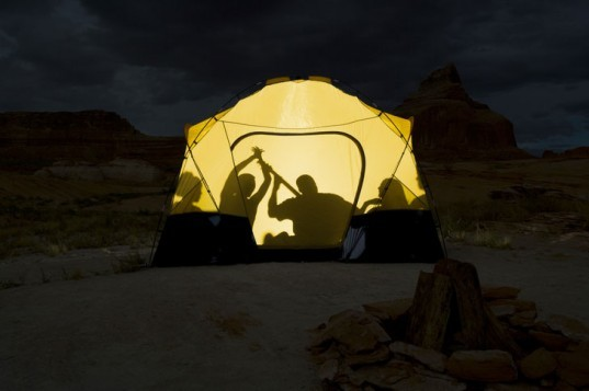 shadow, people, tent, leave no trace, camping