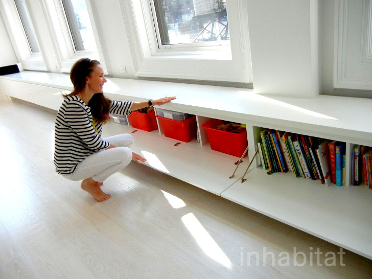 9 Clever Storage Solutions for Small Spaces | Inhabitat - Green ...