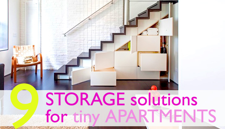 9 Clever Storage Solutions For Small Spaces | Inhabitat   Green Design,  Innovation, Architecture, Green Building