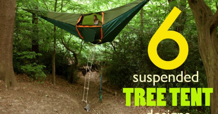 6 Suspended Tree Tents For a Lighter-Than-Air Camping Experience