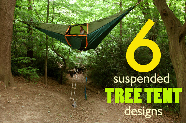 Architecture & 6 Suspended Tree Tents For a Lighter-Than-Air Camping Experience ...