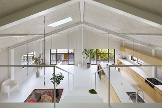 Airhouse Design Officeu0027s Recycled Warehouse Home In Japan