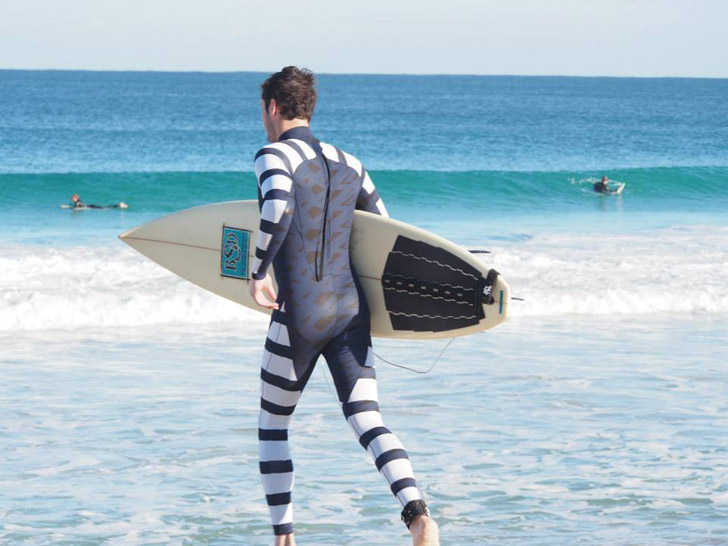 World's First Anti-Shark Wetsuits Protect Surfers and Divers From Deadly Attacks