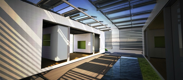 DALE: Brilliant Solar-Powered Micro Home is Set on Rails for Mobility