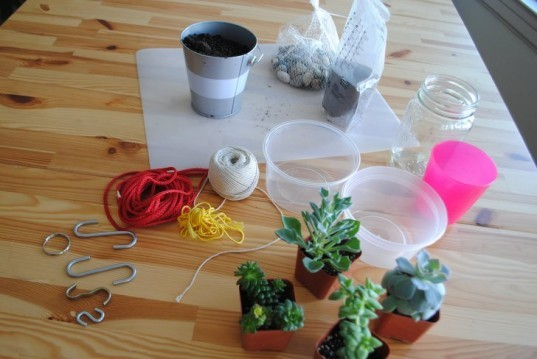 Diy learn how to make a knotted string hanging planter for Flower pot made by waste material