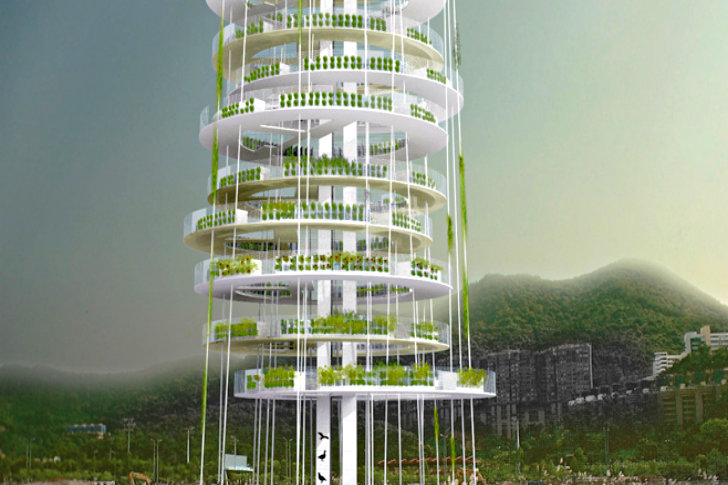 vertical multi level farming to increase