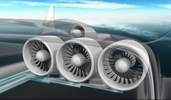 EADS E-Thrust Electric Airliner Could Transform Air Travel by 2050