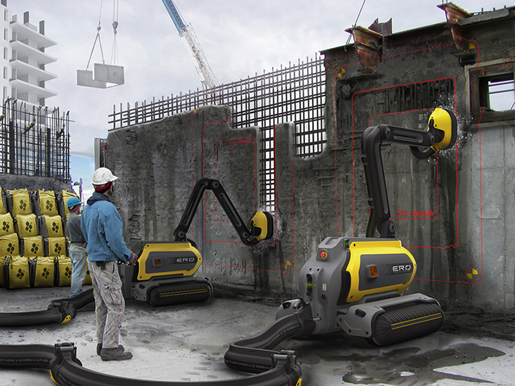 Amazing ERO Concrete-Recycling Robot Can Erase Entire Buildings