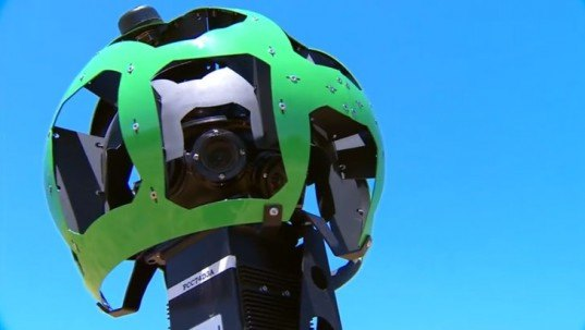 green design, eco design, sustainable design, Google Trekker Street View Backpack, Google Street View
