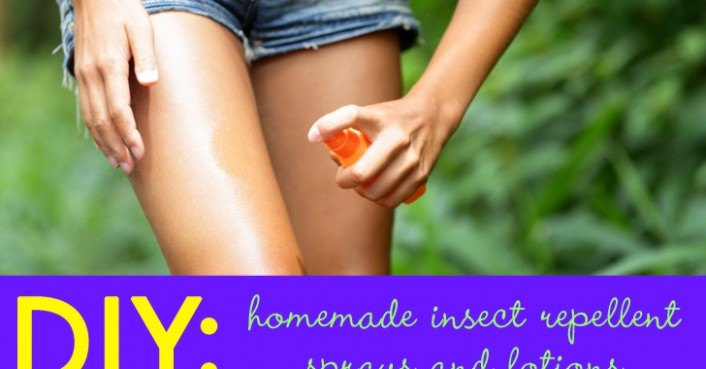 Diy Homemade Insect Repellent Sprays And Lotions