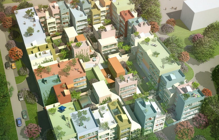 Mvrdv S Urban Hybrid Micro City Is Set To Be Constructed