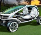 Mercedes Unveils Solar-Powered 'Vision' Golf Cart of the Future