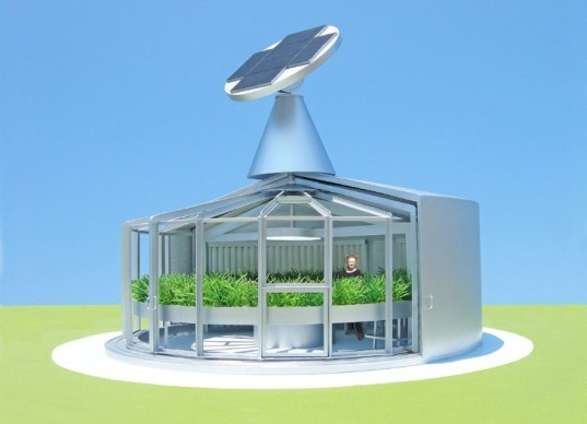 Eco-Aquaponic House, Michael Jantzen, aquaponics, aquaponic gardening, urban farms, eco-friendly gardening, natural fertilizers, solar power, solar design, solar array, renewable energy sources, renewable energy