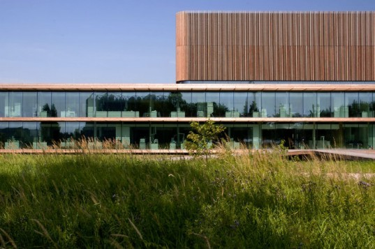 Netherlands Institute of Ecology, Claus en Kaan Architecten, cradle to cradle, eco laboratory, green lab