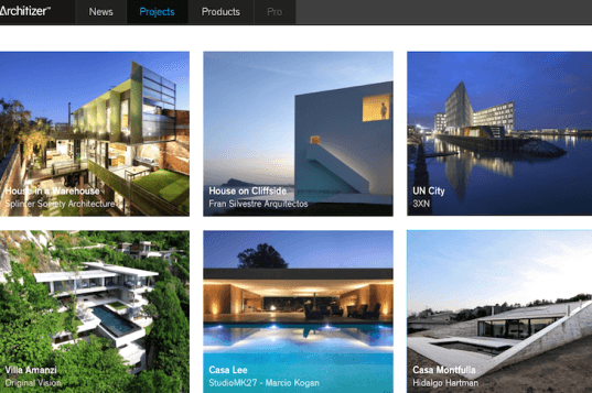 Architizer, design blogs, design professionals, architecture blogs, products for designers, products for architects, images of architecture, design images, Marc Kushner, online forum for design professionals, architecture photography, interactive architecture websites, new Architizer platform