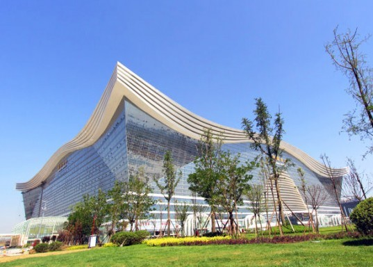 world's largest building, new century global center, tainfu new district, china, wind farms, superpower, pentagon, world's largest free standing building, chengdu, china superpower