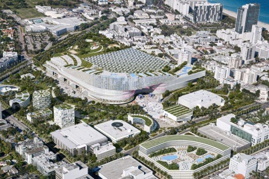 OMA, Miami Beach Convention Center, Rem Koolhaas, Miami Beach, Design Competition