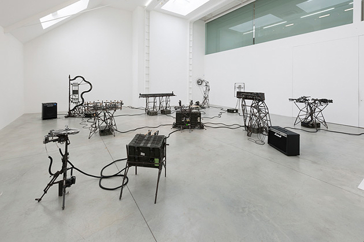 Pedro Reyes Creates an Orchestra of Mechanical Instruments from Upcycled Mexican Weapons